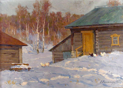 Alexander Danilichev untitled snow