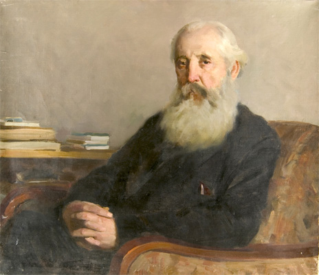 Alexander Danilichev Portrait of a Man in an Armchair