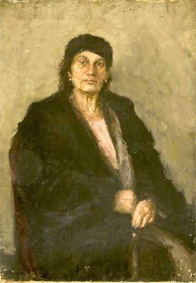 Alexander Danilichev Portrait of a Women