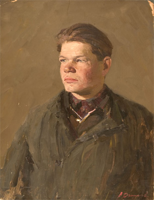 Alexander Danilichev Portrait of a Young Man