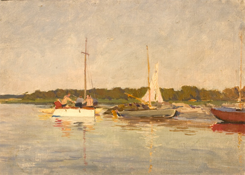 Mikhail Sokolov Evening nautical