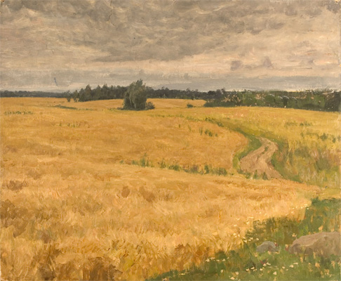 Nikita Fedosov Fields of Wheat