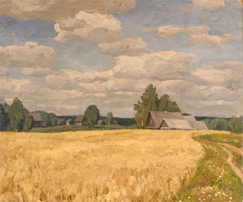 Nikita Fedosov Fields in the Village