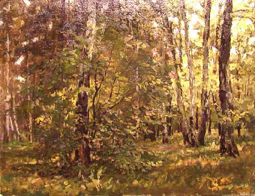 Nikolai Kozlov In the Forest