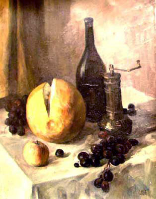 Olga Belakovskaya Wine and Fruits