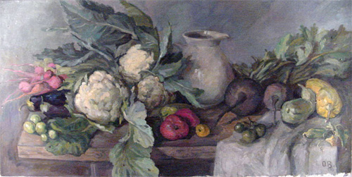 Olga Belakovskaya Still Life With Cauliflower