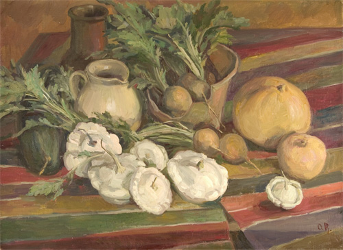 Olga Belakovskaya Squash and Turnips
