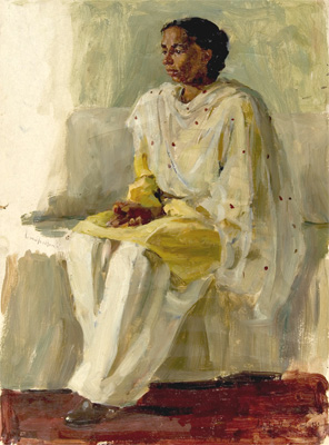 Olga Ludevig A Study of Dildusit Pritom Seng (a peasant from In