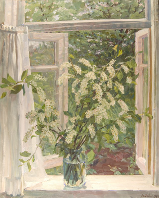 Olga Ludevig I Have Dissolved a Window white
