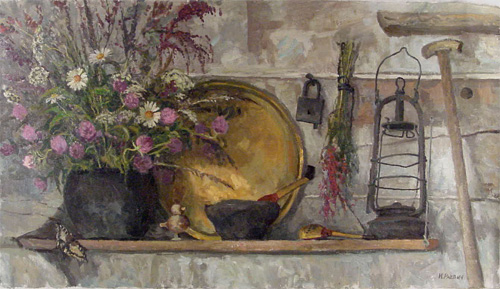 Igor Raevitch Still Life With Flowers floral