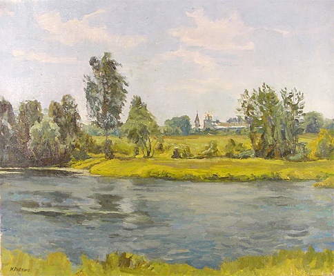 Igor Raevitch Moscow River Bank