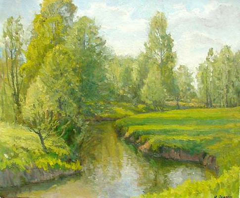 Igor Raevitch Springtime- By the River