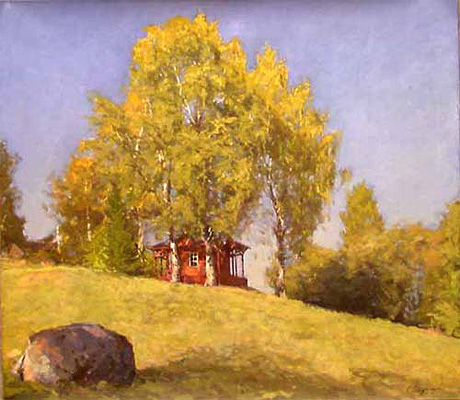 Andre Smirnov Between the Birches