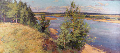 Andre Smirnov Bank of the Pinega River
