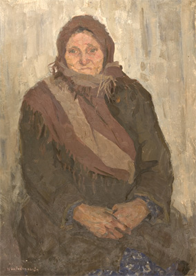 Irina Shevandronova Portrait of Grandmother