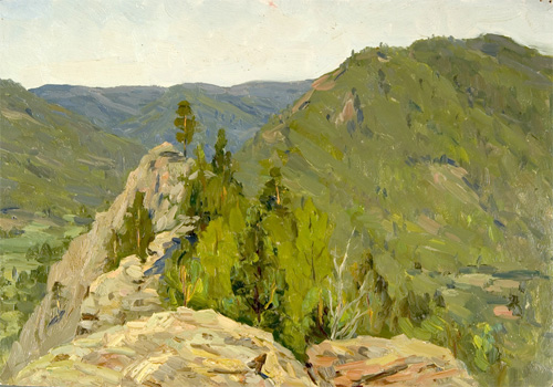 Viktor N. Chulovich In the Ural Mountains