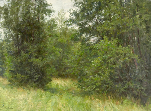 Yuri Kugach Summer at the Edge of a Forest
