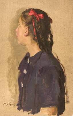 Yuri Kugach Study for the Painting, 'High Honors'