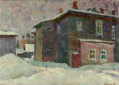 Vyacheslav Zabelin Winter in Borisogleb