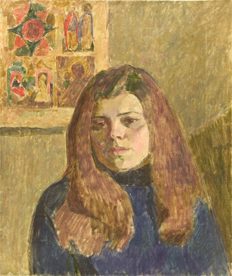 Vyacheslav Zabelin Untitled (Portrait of Artist's Wife)