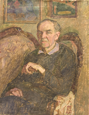 Vyacheslav Zabelin Portrait of a Man (Father)