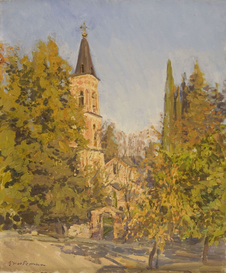 John Wurdeman Autumn Sun at St. Nino's