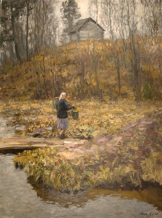 Mikhail Kugach Fetching Water