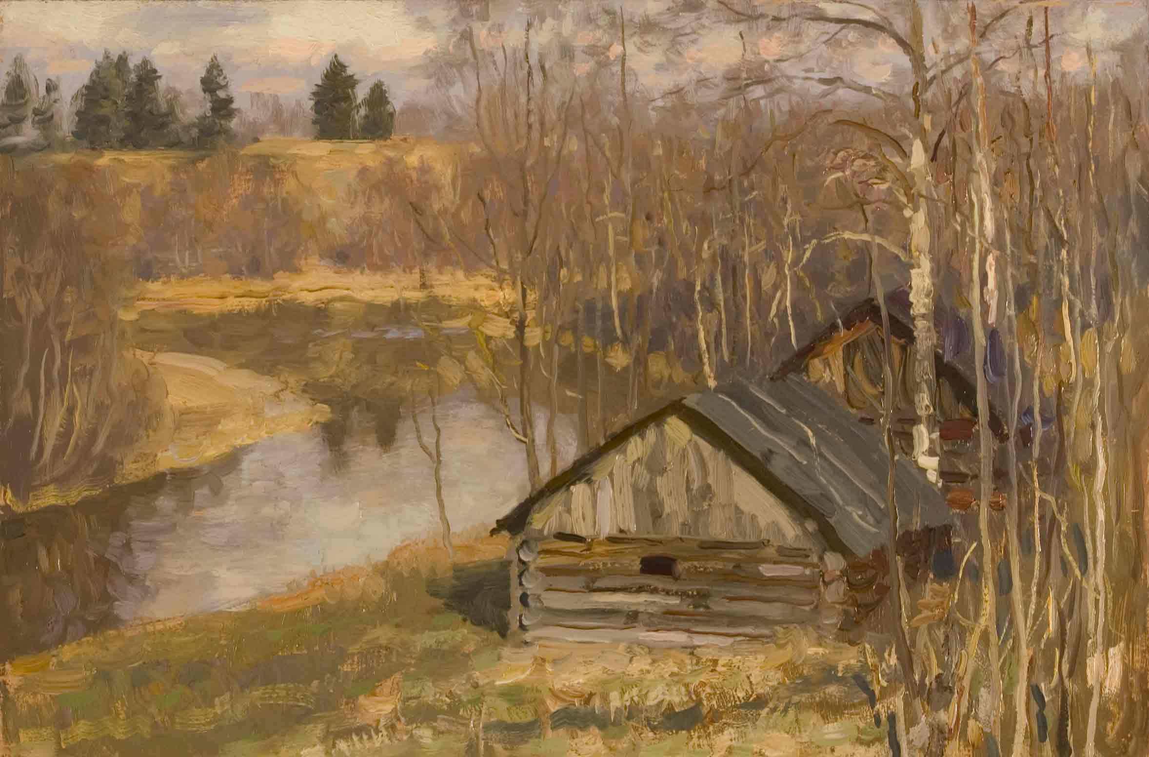 Mikhail Kugach Last Day of Autumn
