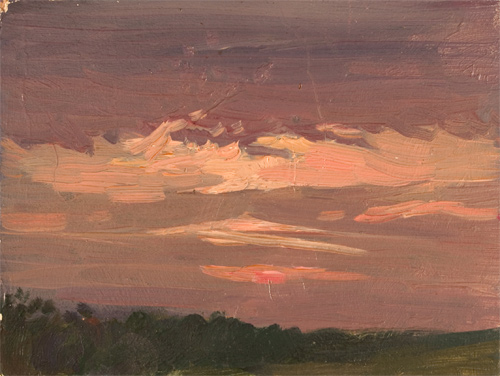 Nikita Fedosov Purple Sunset