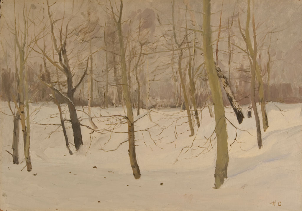 Nikolai Sergeyev Small Winter