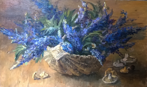 Olga Belakovskaya Still Life with Flowers
