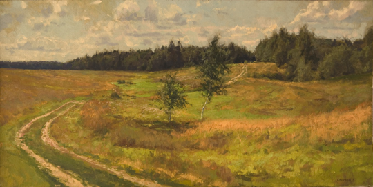 Andre Smirnov Road in the Forest