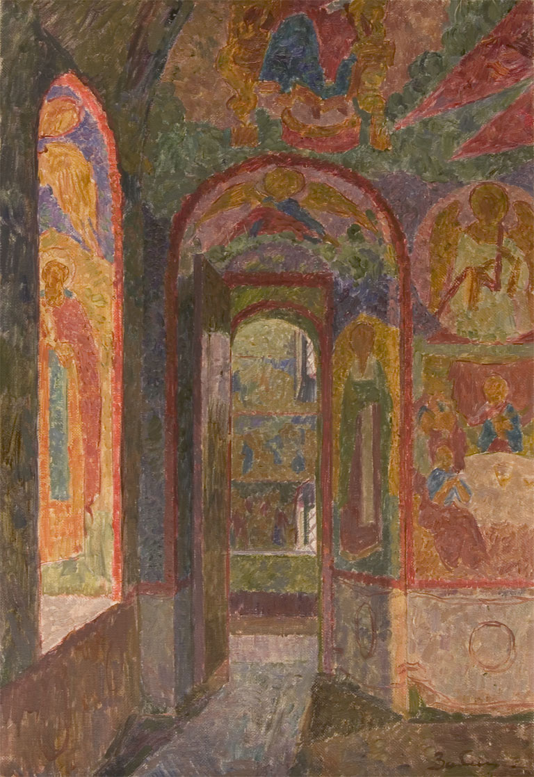 Vyacheslav Zabelin Interior of Church of the Resurrection