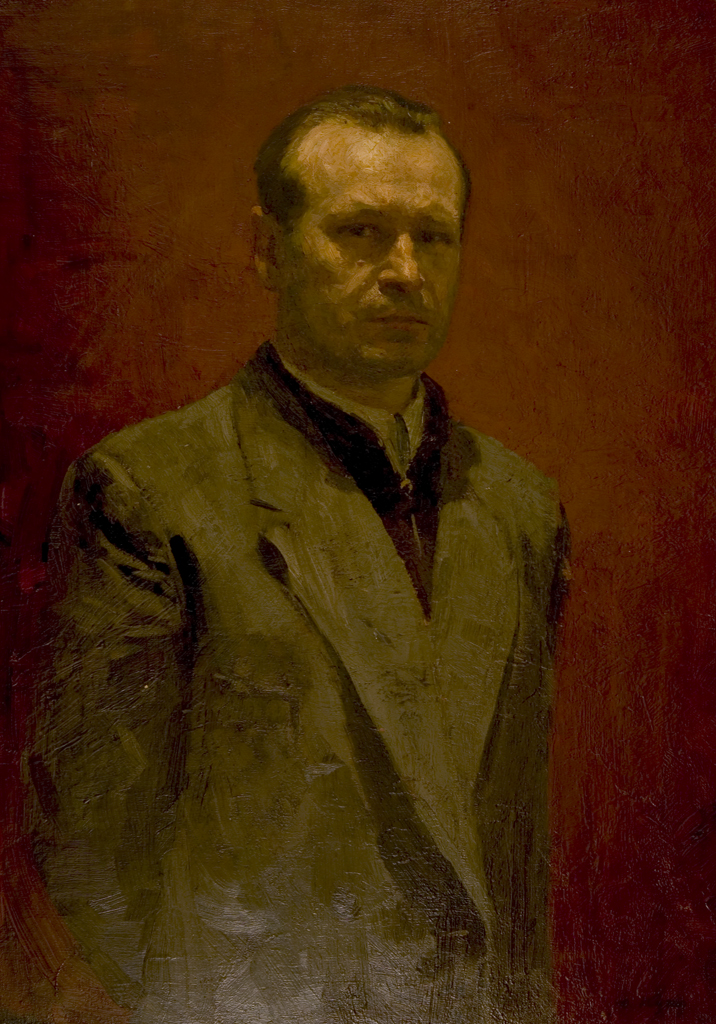 Self Portrait by Yuri Kugach